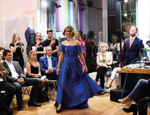 Modenschau im Atelier Silke Wagler Couture in Leipzig
