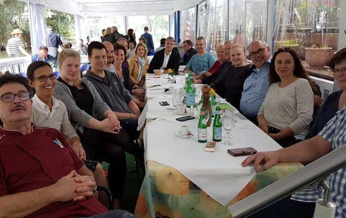 Mitgliederversammlung im Ristorante da Vito Leipzig am 17.09.2017